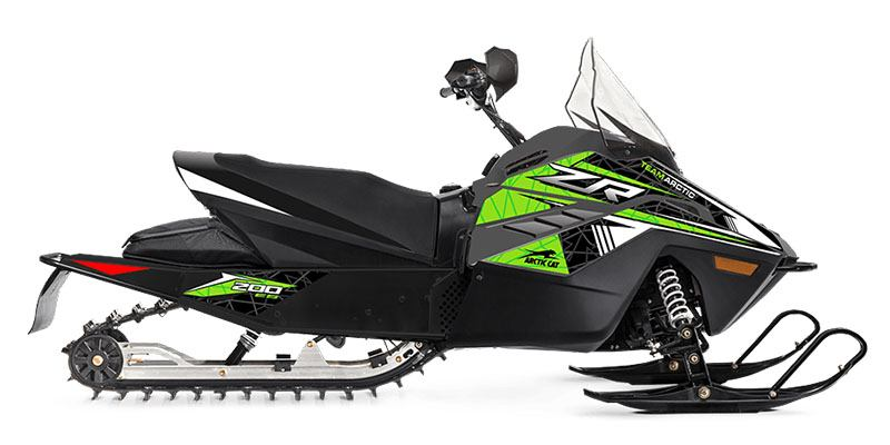2022 Arctic Cat ZR 200 ES with Kit in Calmar, Iowa - Photo 1