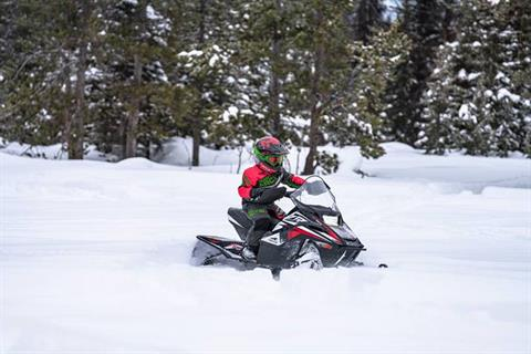 2022 Arctic Cat ZR 200 ES with Kit in Saint Helen, Michigan - Photo 2