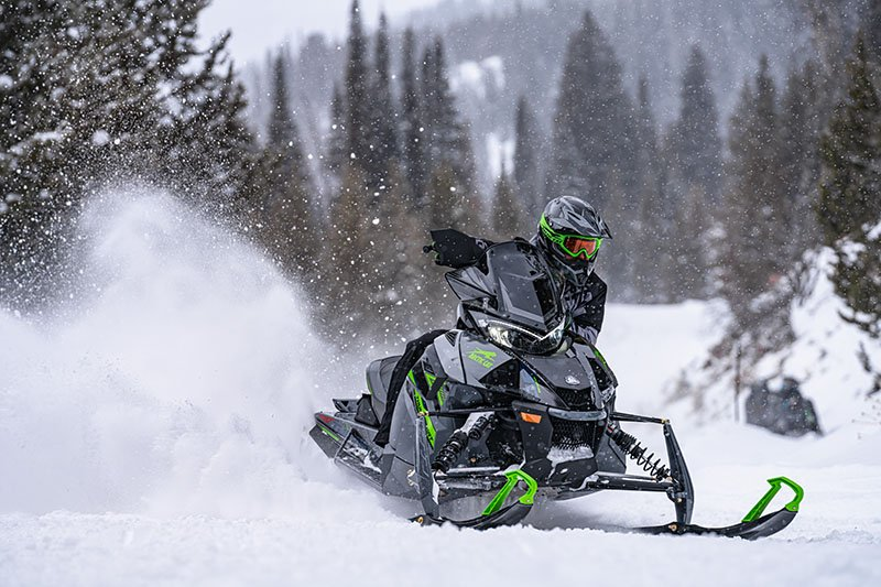2022 Arctic Cat ZR 9000 Thundercat ES with Kit in Lincoln, Maine - Photo 3