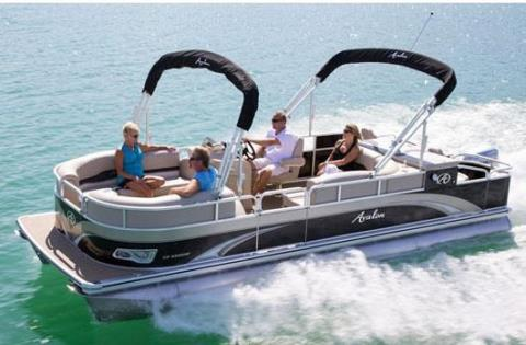 2013 Avalon C Fish - 24' in Memphis, Tennessee