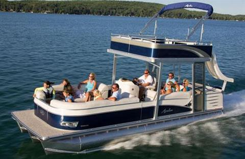 2013 Avalon C Funship - 24' in Lancaster, New Hampshire