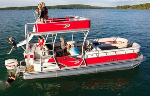 2013 Avalon Deco Funship - 27' in Black River Falls, Wisconsin