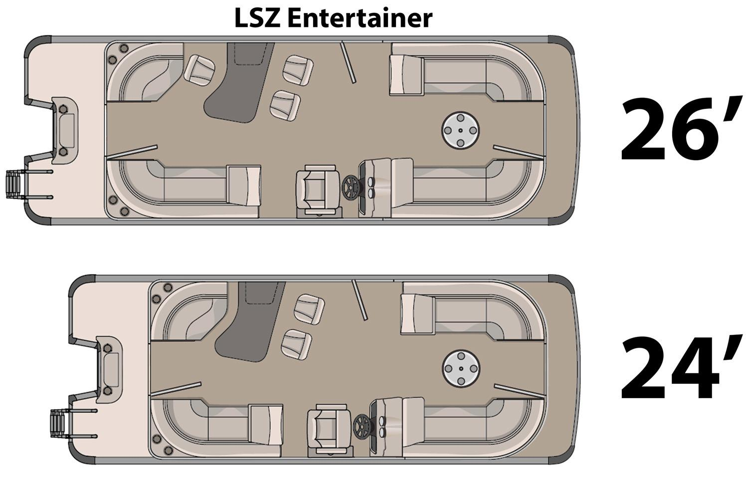 2016 Avalon LSZ Entertainer - 24' in Ontario, California