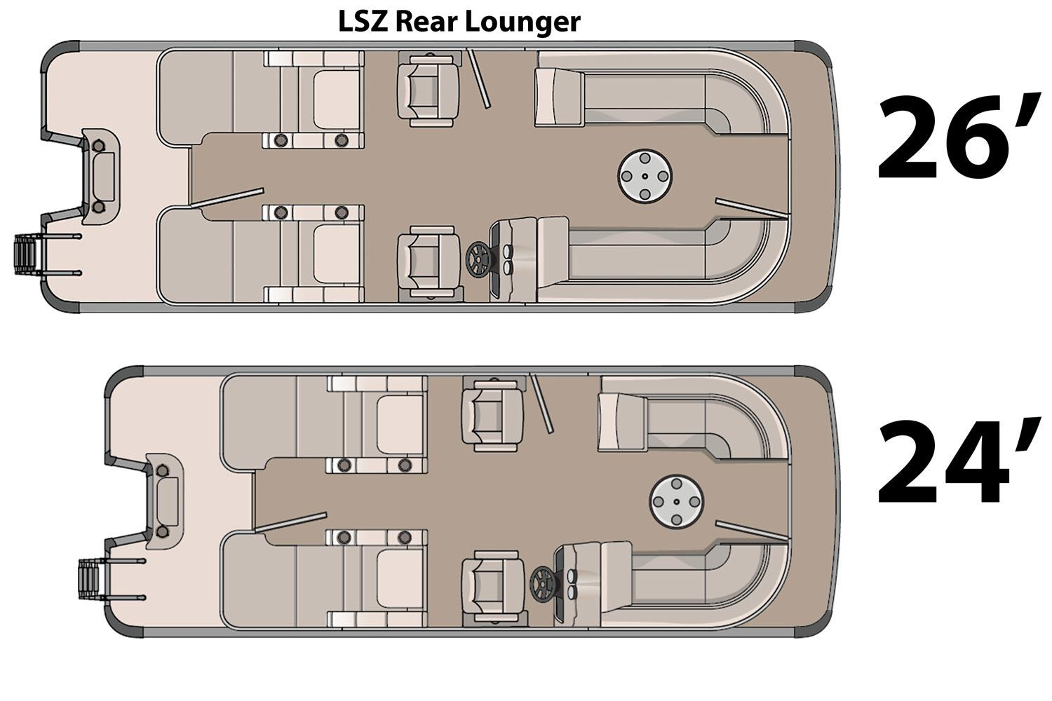 2016 Avalon LSZ Rear Lounger - 24' in Memphis, Tennessee