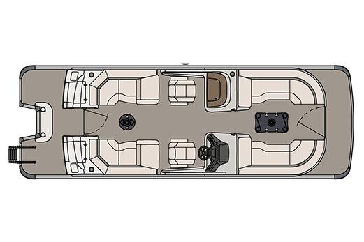 2017 Avalon Ambassador Quad Lounge Windshield - 25' in Ontario, California