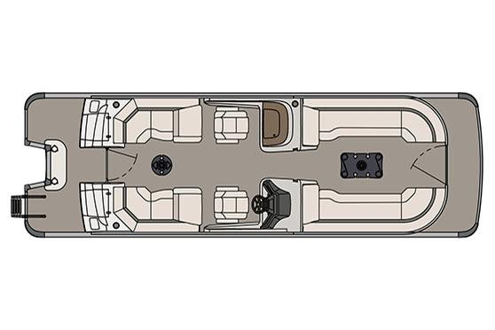 2017 Avalon Ambassador Quad Lounge Windshield - 27' in Ontario, California