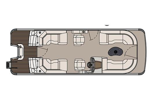 2017 Avalon Catalina Platinum Quad Lounge - 25' in Memphis, Tennessee