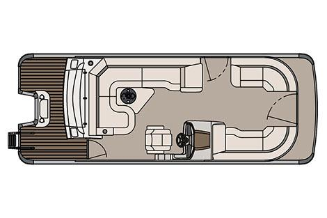 2017 Avalon Catalina Platinum Rear J Lounger - 23' in Lancaster, New Hampshire