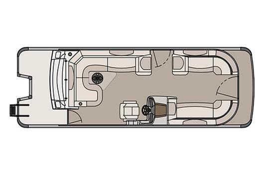 2017 Avalon Catalina Rear J Lounger - 25' in Memphis, Tennessee
