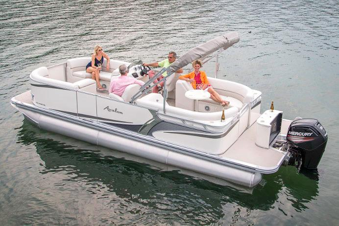 2017 Avalon LSZ Quad Lounger - 24' in Memphis, Tennessee