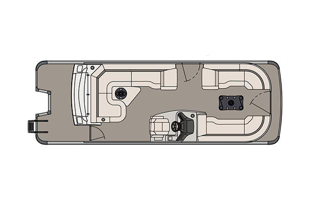2018 Avalon Ambassador Rear J Lounge - 25' in Black River Falls, Wisconsin - Photo 5