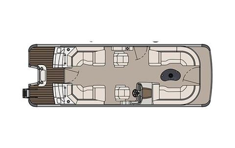 2018 Avalon Catalina Platinum Quad Lounge - 25' in Black River Falls, Wisconsin