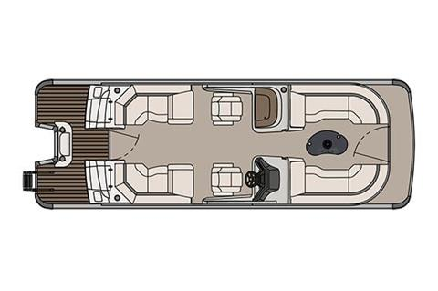 2018 Avalon Catalina Platinum Quad Lounge Windshield - 25' in Memphis, Tennessee
