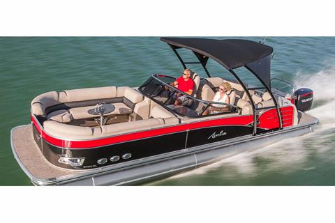 2018 Avalon Catalina Platinum Quad Lounge Windshield - 27' in Black River Falls, Wisconsin
