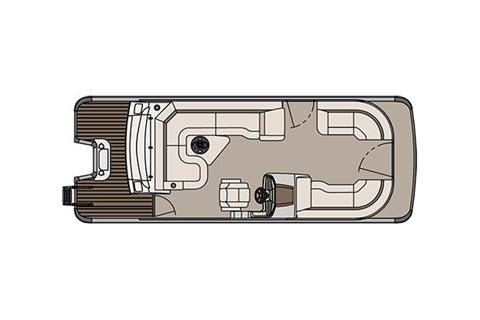 2018 Avalon Catalina Platinum Rear J Lounge - 23' in Memphis, Tennessee