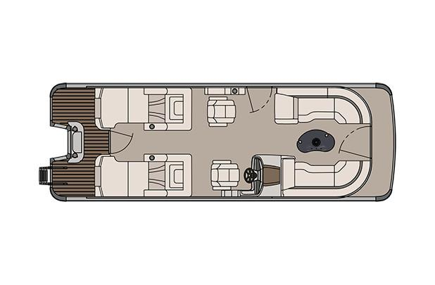 2018 Avalon Catalina Platinum Rear Lounge - 25' in Memphis, Tennessee