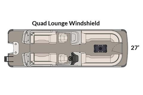 2018 Avalon Excalibur Quad Lounge Windshield - 27' in Ontario, California