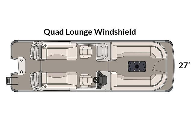 2018 Avalon Excalibur Quad Lounge Windshield - 27' in Memphis, Tennessee - Photo 8