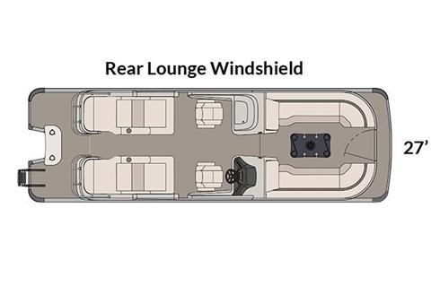 2018 Avalon Excalibur Rear Lounge Windshield - 27' in Black River Falls, Wisconsin