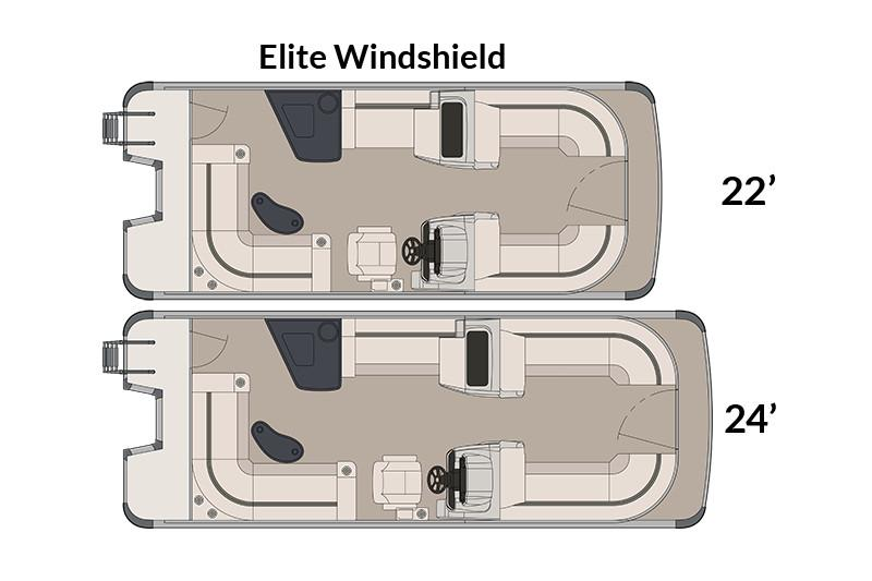 2018 Avalon LSZ Elite Windshield - 22' in Memphis, Tennessee