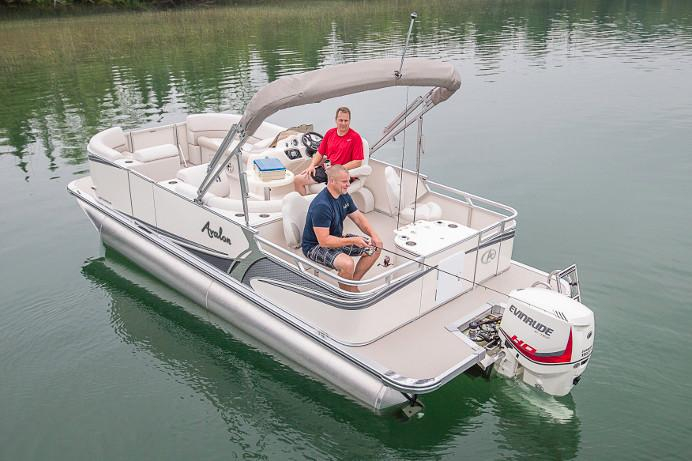 2018 Avalon LSZ Quad Fish - 20' in Black River Falls, Wisconsin - Photo 2