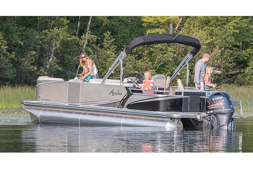 2018 Avalon LSZ Quad Fish - 20' in Black River Falls, Wisconsin - Photo 3