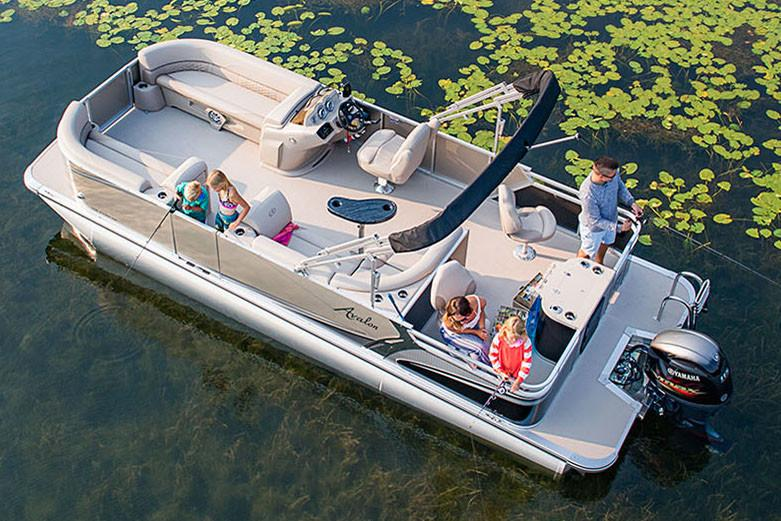 2018 Avalon LSZ Quad Fish - 20' in Black River Falls, Wisconsin - Photo 4