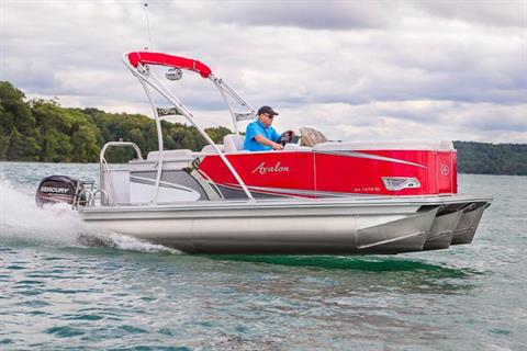 2018 Avalon Venture Quad Lounge - 18' in Lancaster, New Hampshire