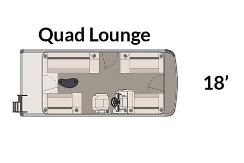 2018 Avalon Venture Quad Lounge - 18' in Memphis, Tennessee