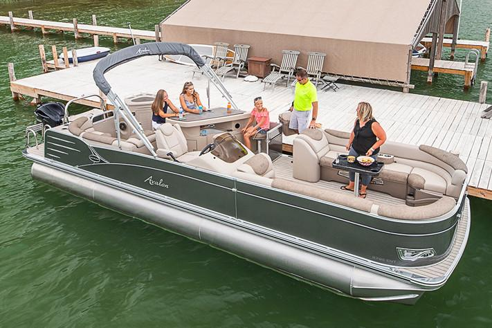 2019 Avalon Catalina Entertainer - 25' in Lancaster, New Hampshire