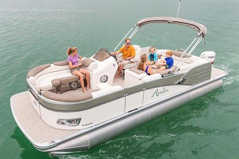 2019 Avalon Catalina Rear J Lounge - 23' in Lancaster, New Hampshire