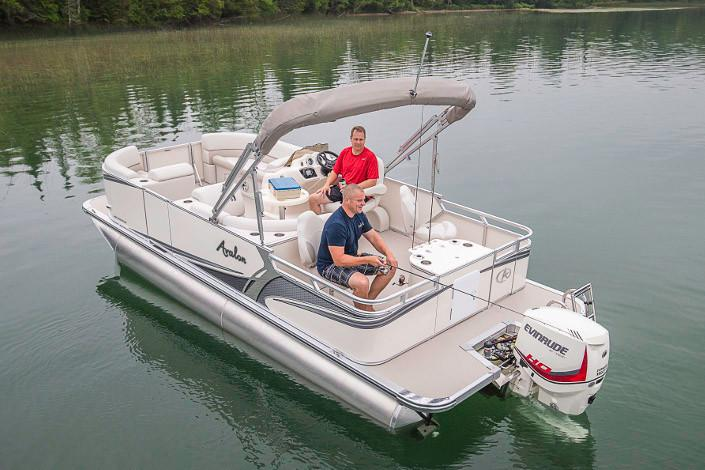 2019 Avalon LSZ Rear Fish - 22' in Lancaster, New Hampshire - Photo 2