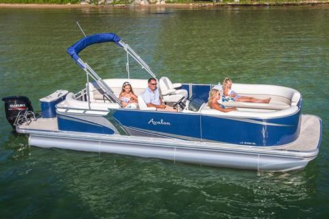 2019 Avalon LS Quad Lounge - 22' in Lancaster, New Hampshire