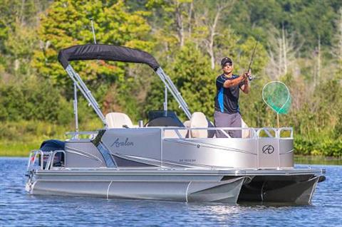 2019 Avalon Venture Bow Fish - 18' in Lancaster, New Hampshire