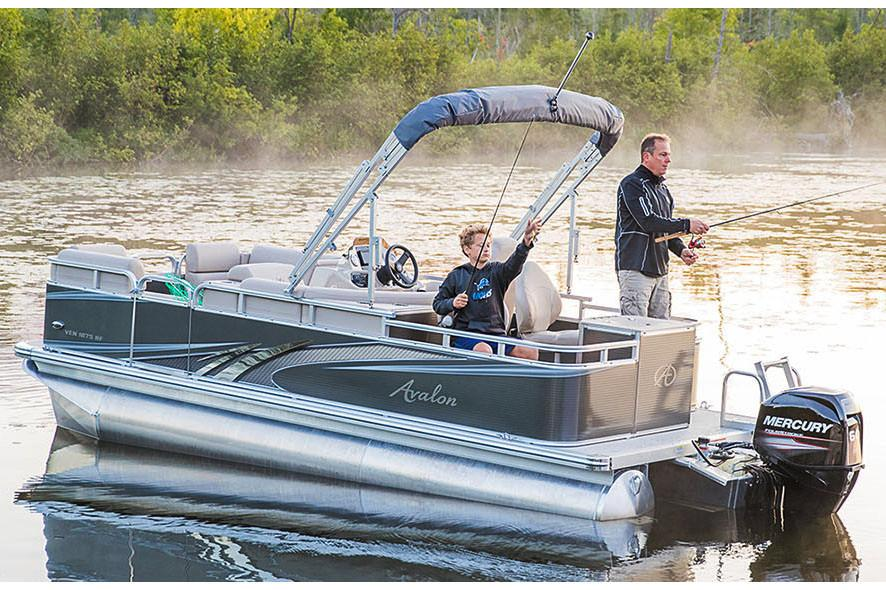 2019 Avalon Venture Rear Fish - 18' in Black River Falls, Wisconsin