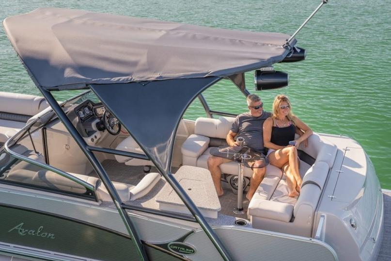 2020 Avalon Catalina Platinum Elite Windshield - 25' in Lancaster, New Hampshire - Photo 2