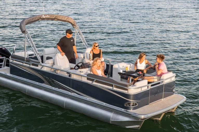 2021 Avalon Venture Quad Lounger - 18' in Saint Helen, Michigan - Photo 2