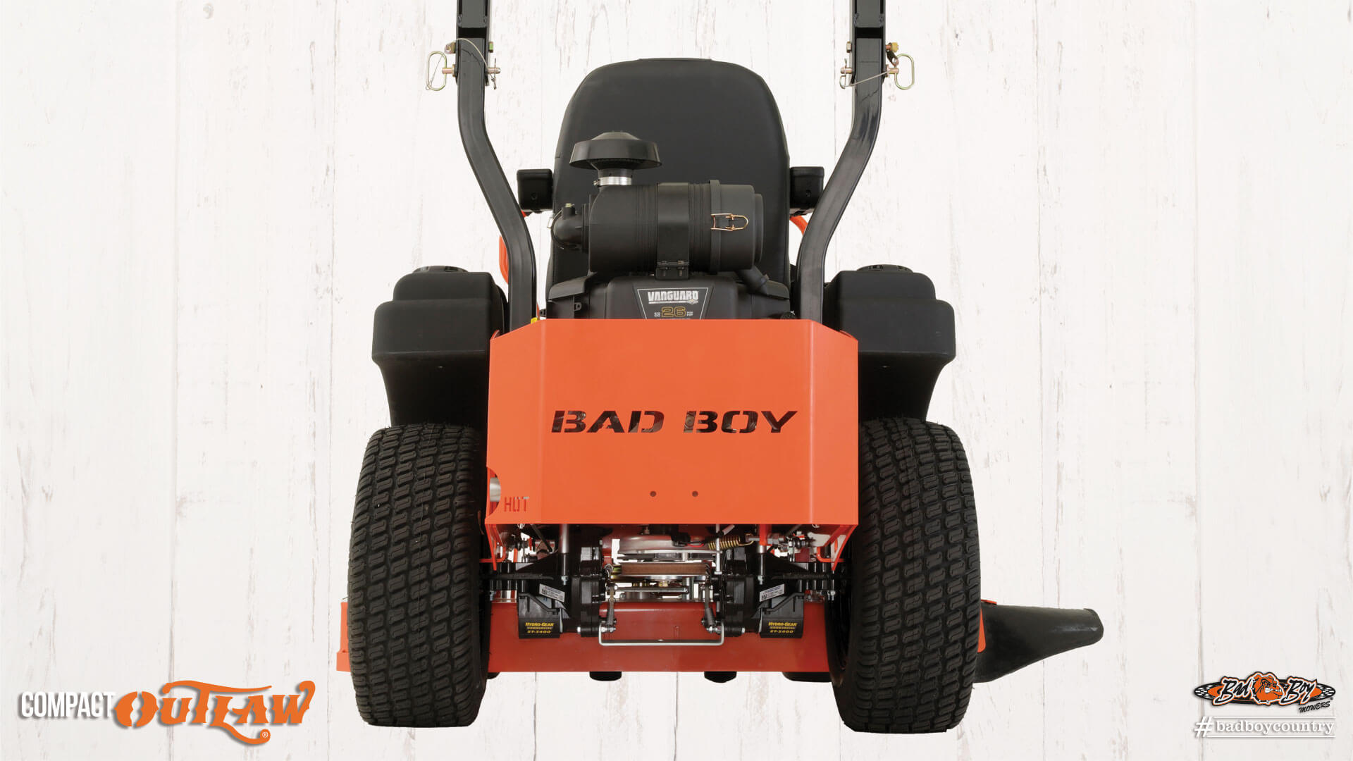 2017 Bad Boy Mowers 4200 (Vanguard) Compact Outlaw in Chanute, Kansas
