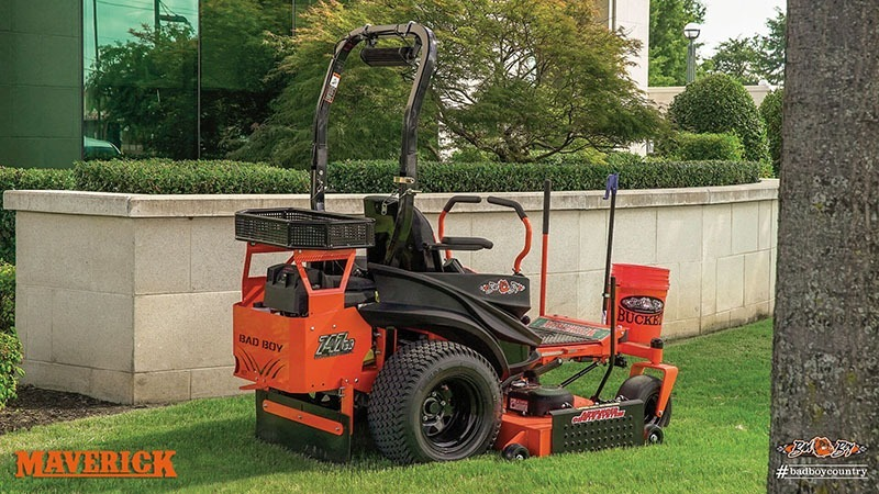 2017 Bad Boy Mowers 4800 (Kawasaki) Maverick in Chillicothe, Missouri
