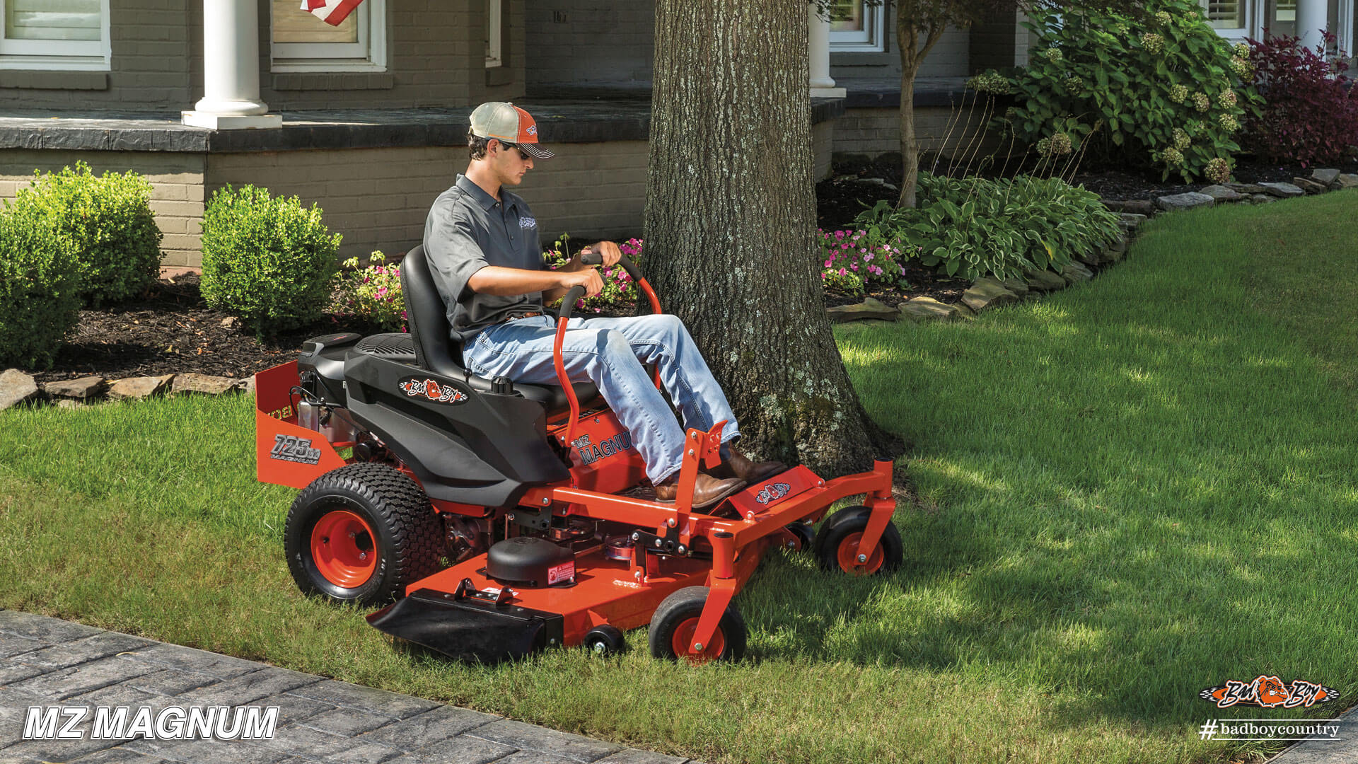 2017 Bad Boy Mowers 4800 (Kawasaki) MZ Magnum in Saucier, Mississippi