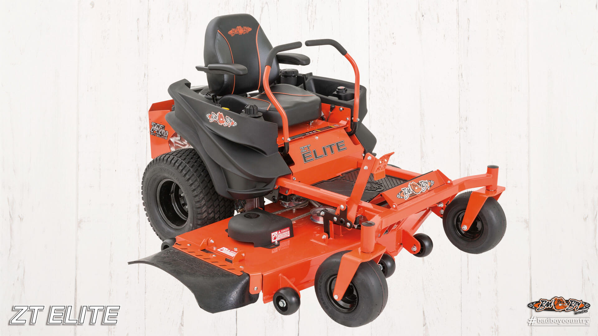 2017 Bad Boy Mowers 4800 (Kawasaki) ZT Elite in Terre Haute, Indiana
