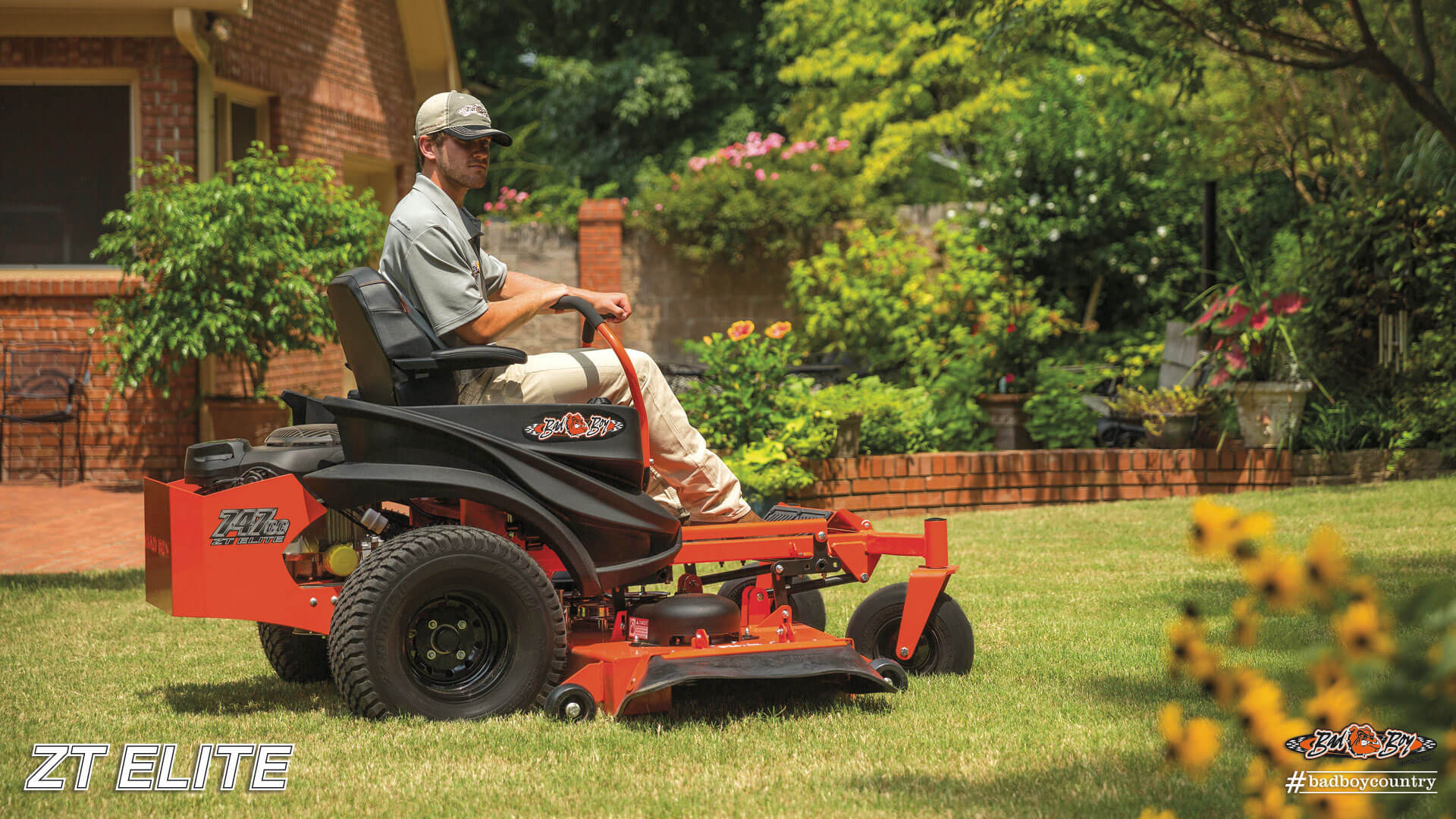 2017 Bad Boy Mowers 4800 (Kohler) ZT Elite in Saucier, Mississippi