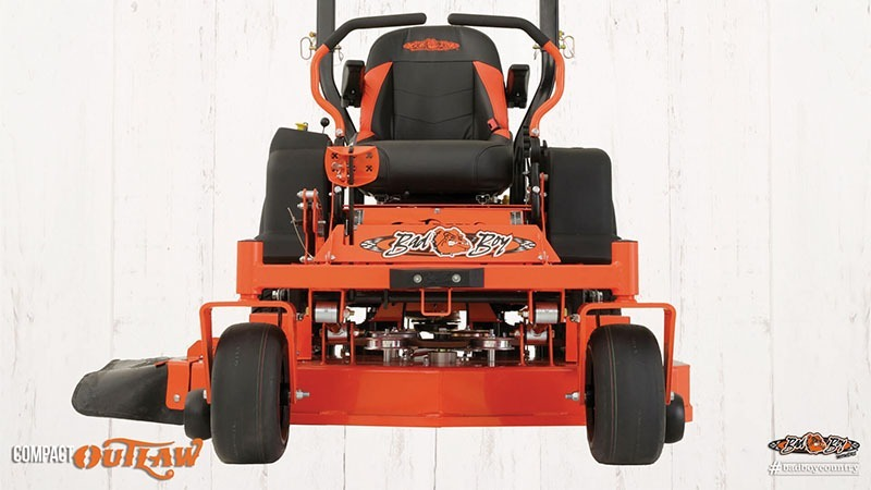 2017 Bad Boy Mowers 4800 Vanguard Compact Outlaw in Chanute, Kansas