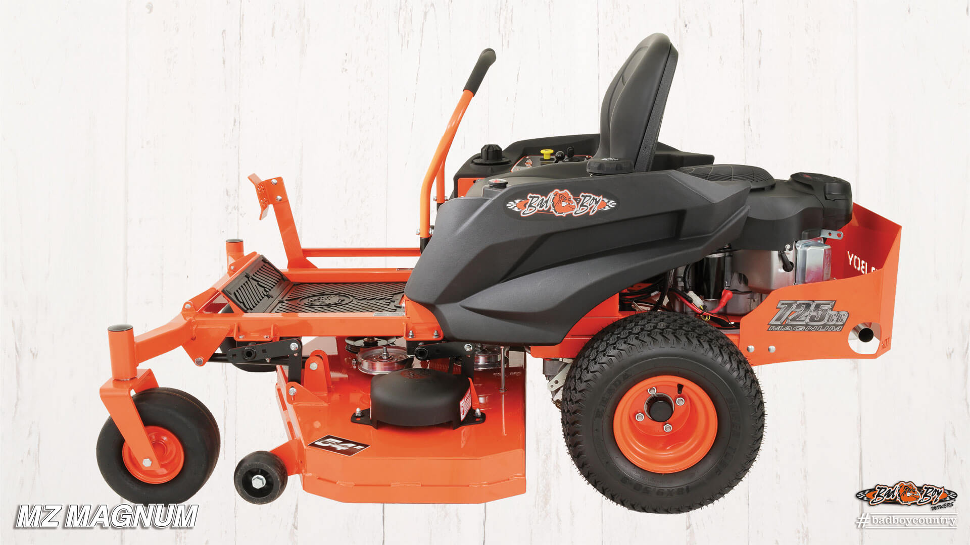 2017 Bad Boy Mowers 5400 (Kawasaki) MZ Magnum in Gresham, Oregon