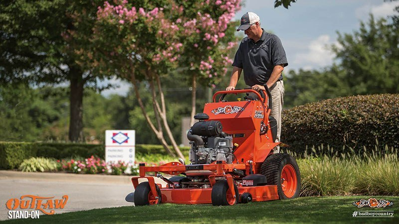 2017 Bad Boy Mowers 5400 Kawasaki Outlaw Stand-On in Eastland, Texas