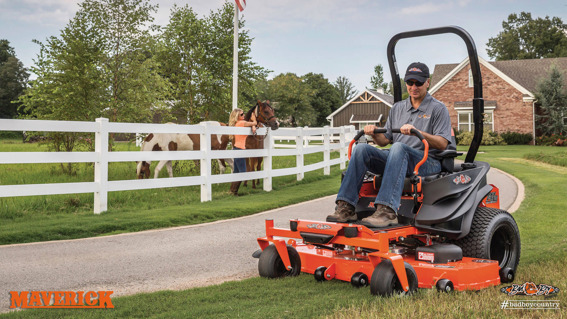 2017 Bad Boy Mowers 5400 (Kohler) Maverick in Mechanicsburg, Pennsylvania