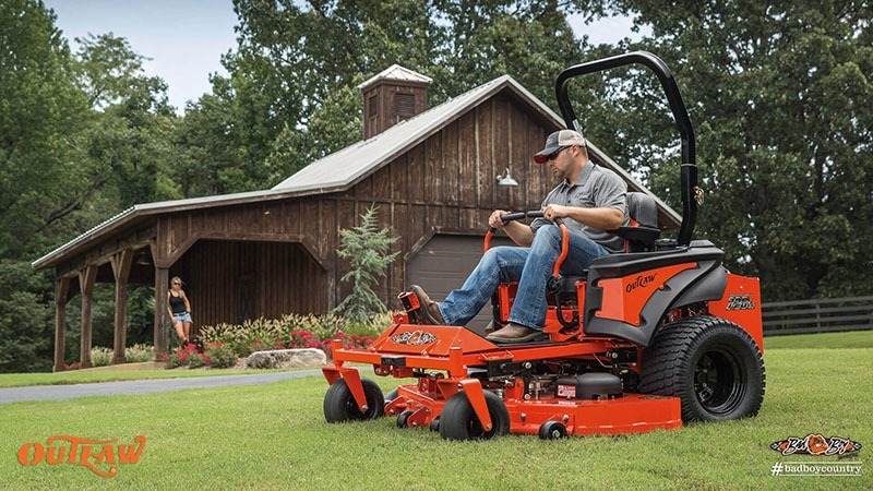 2017 Bad Boy Mowers 5400 (Vanguard) Outlaw in Saucier, Mississippi