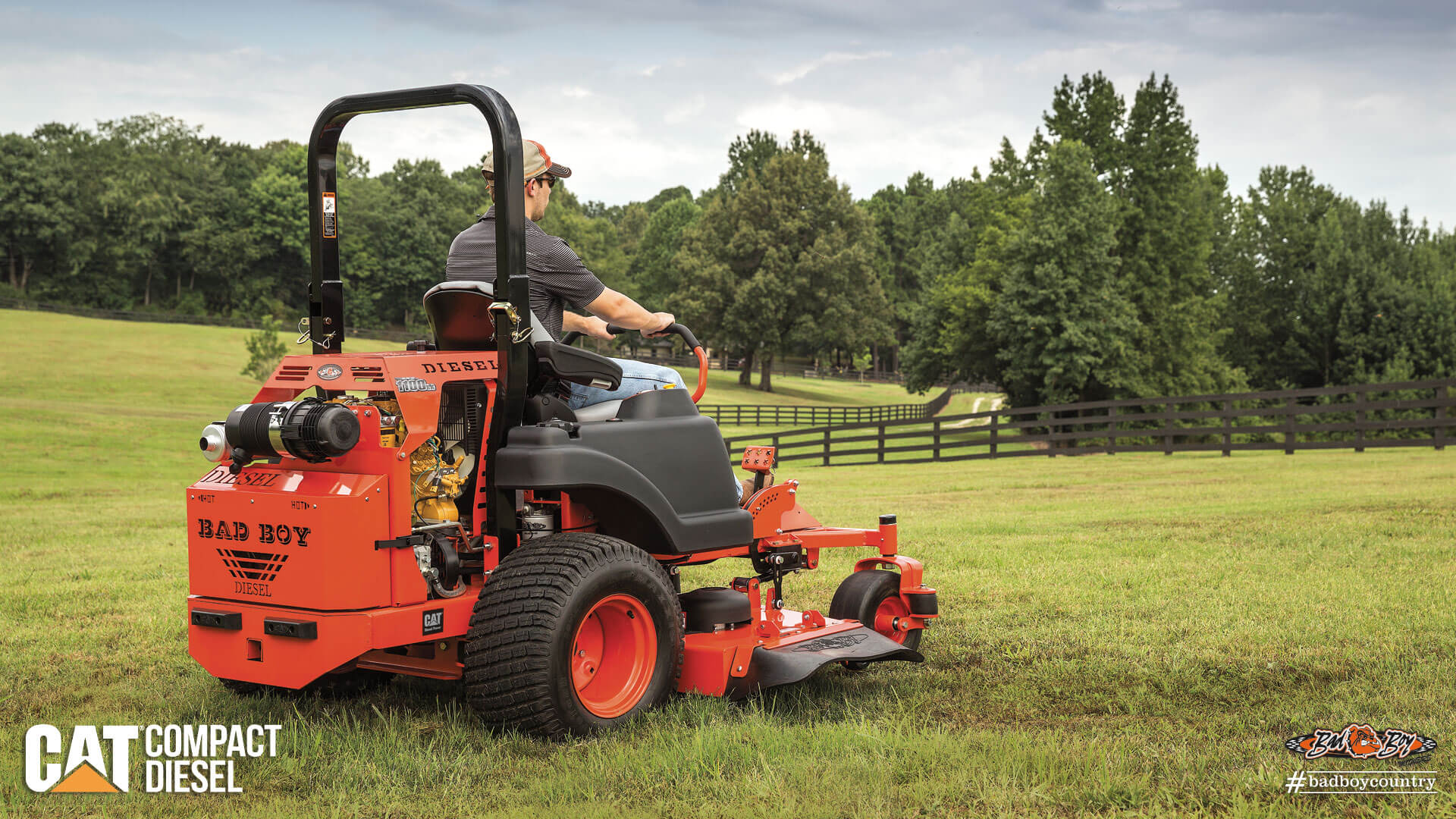 2017 Bad Boy Mowers 6100 Compact Diesel (CAT) in Batesville, Arkansas