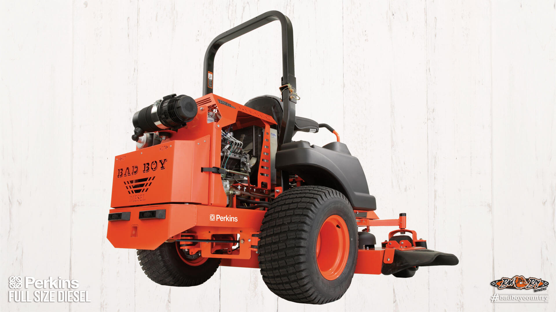 2017 Bad Boy Mowers 6100 Diesel (Perkins) in Mechanicsburg, Pennsylvania