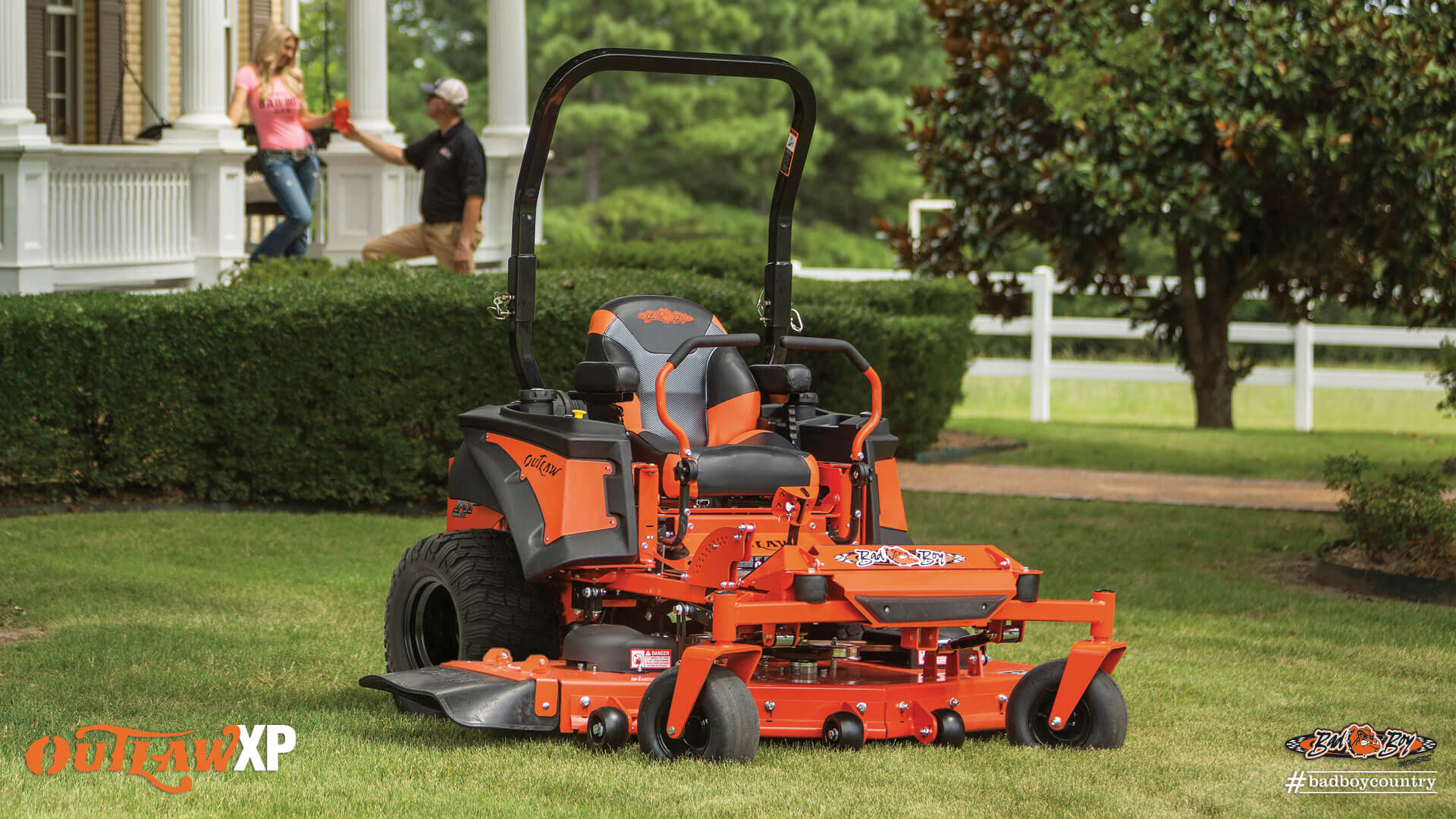 2017 Bad Boy Mowers 6100 (Vanguard) Outlaw XP in Mechanicsburg, Pennsylvania